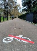 24th Nov 2020 - No cycling