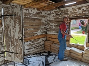 16th Sep 2020 - Restoring a cabin at the museum