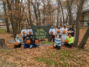 17th Oct 2020 - Girl Scout Weekend