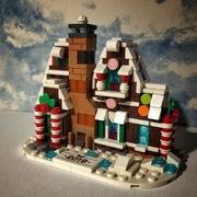25th Nov 2020 - Gingerbread House