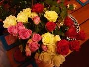27th Nov 2020 - Vases of roses.