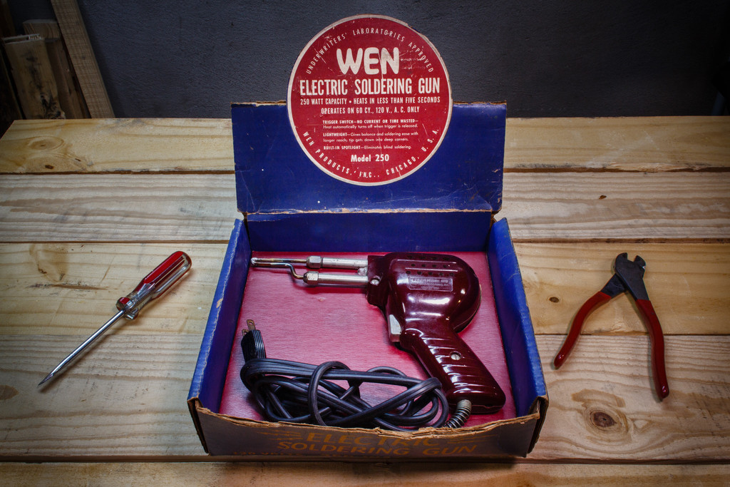 Grandpa's soldering gun. by batfish