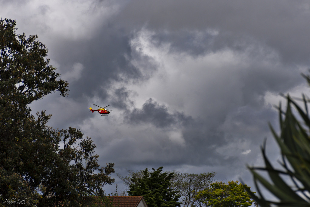 Westpac Helicopter by nickspicsnz