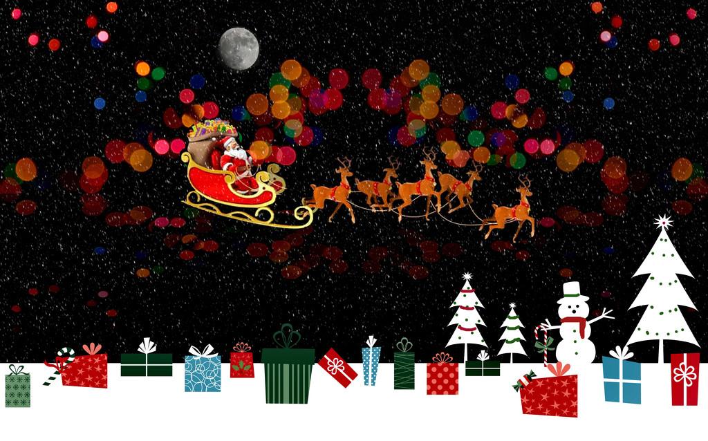 Santa Composite by homeschoolmom