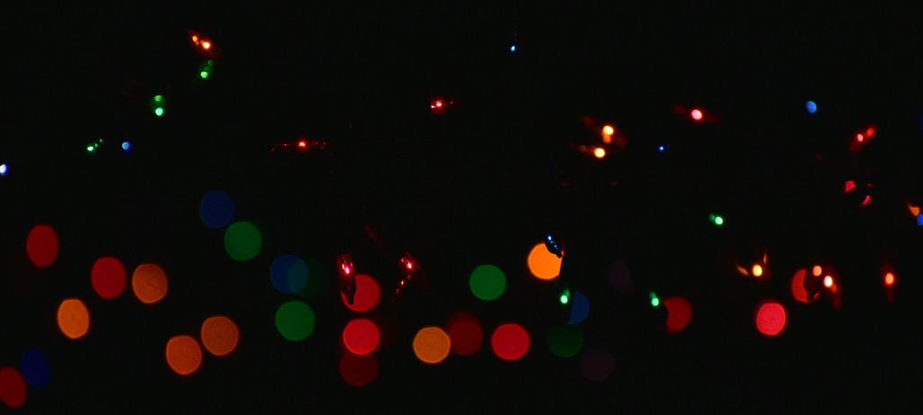 Lights and bokeh by homeschoolmom