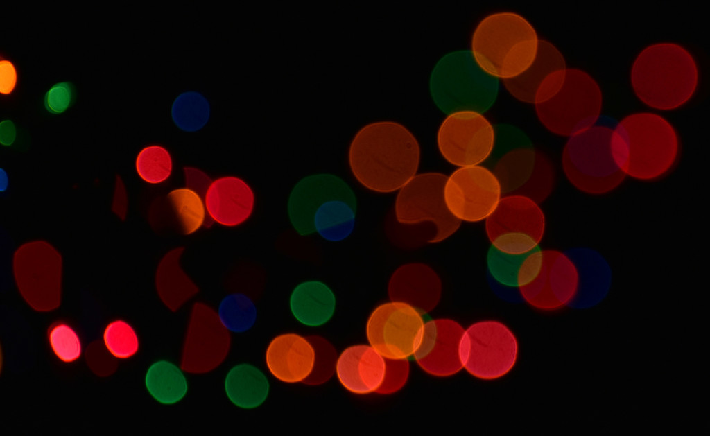 Christmas Bokeh by homeschoolmom