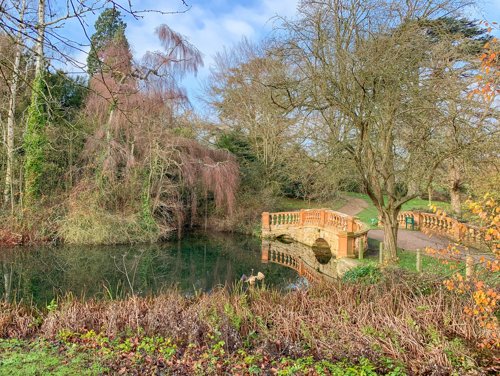 The bridge, Castle Ashby by pamknowler