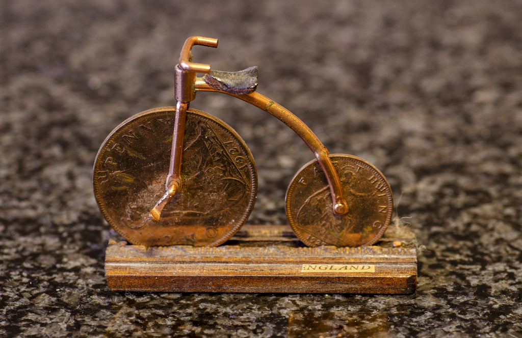 A genuine Penny Farthing by clivee
