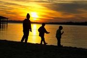 24th Nov 2020 - LHG-5216- 3 lil munchkins at sunset