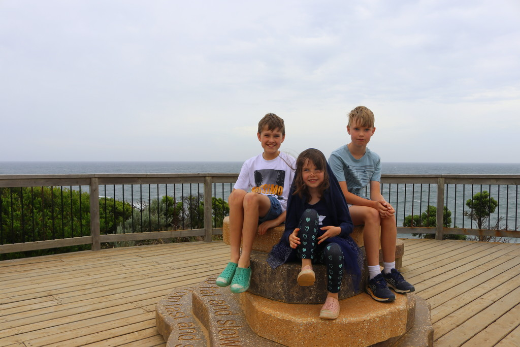 Dull day - happy children  by gilbertwood