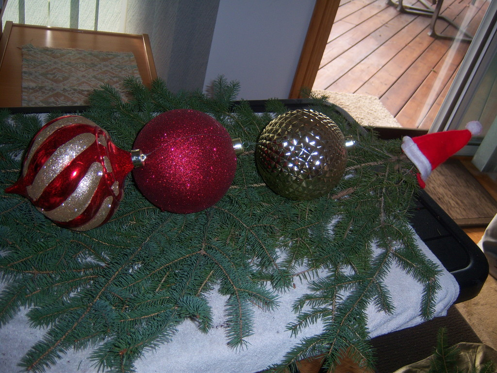 Christmas Baubles by bruni