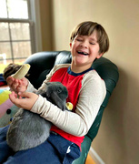 29th Nov 2020 - Boy, Bunny, Banana