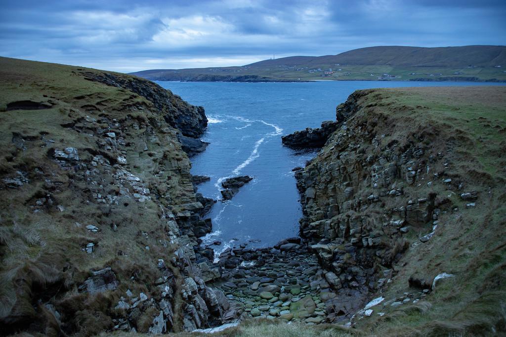 Sandwick Cliffs by lifeat60degrees