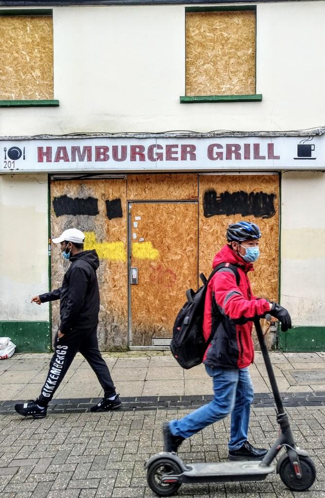 Hamburger Grill by boxplayer