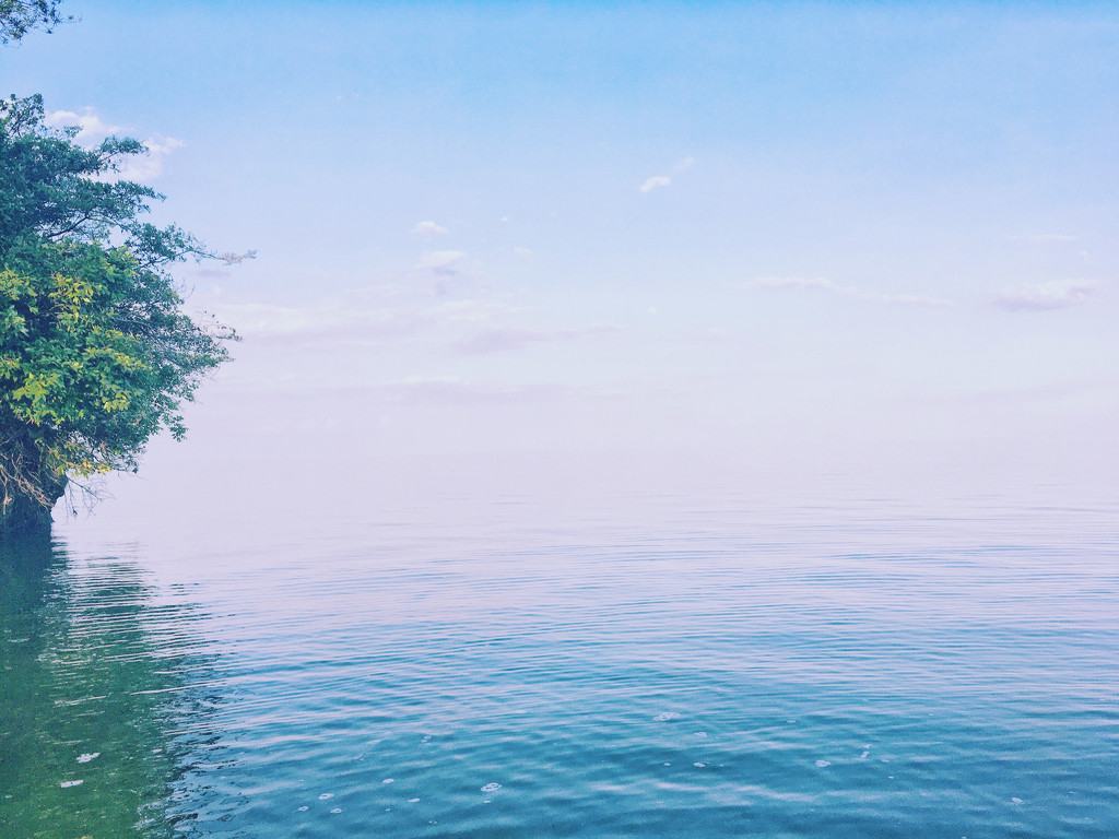 Where Water Meets Sky  by zambianlass