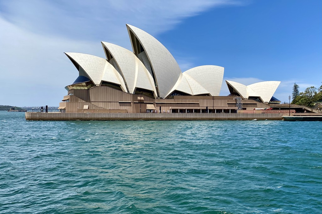 Sydney Opera House from the western side by johnfalconer