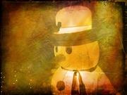 30th Nov 2020 - Return of the happy snowman!