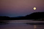 30th Nov 2020 - Setting Moon