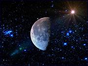 30th Nov 2020 - Sun, Moon and Stars