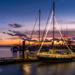 Steveston Harbour Sunset.  by cdcook48