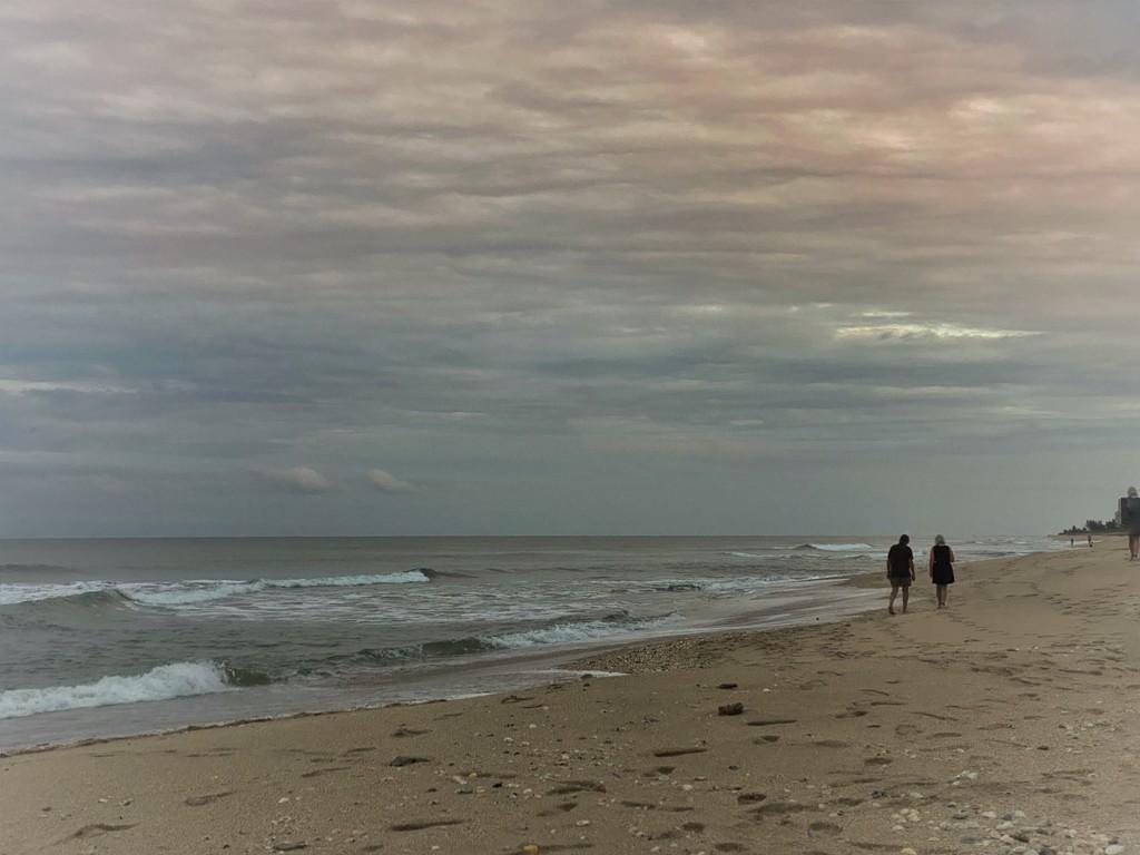 Sunset stroll by joesweet