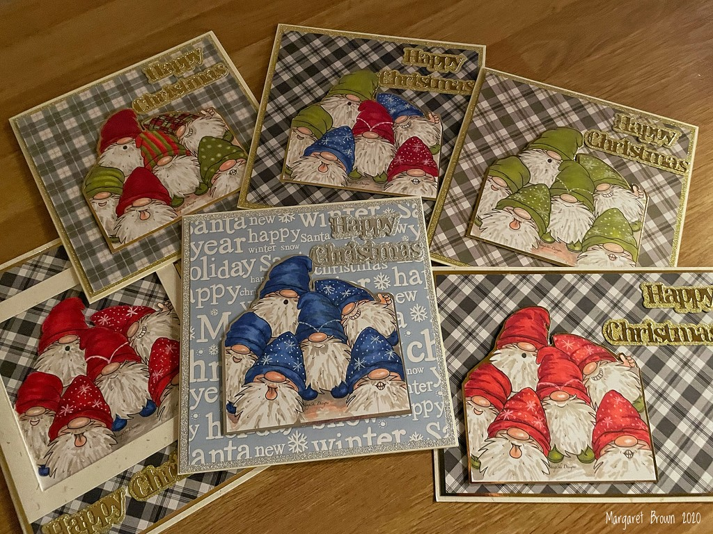 A week of Christmas cards by craftymeg