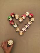 4th Dec 2020 - Tea lights heart.