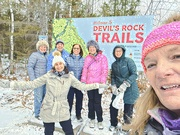 3rd Dec 2020 - Devil's Rock Trails