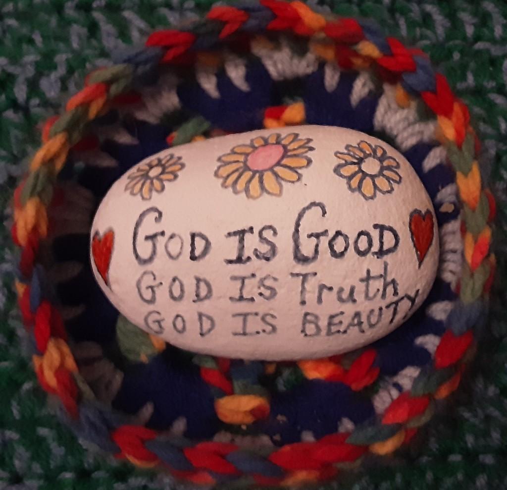 A message pebble. by grace55