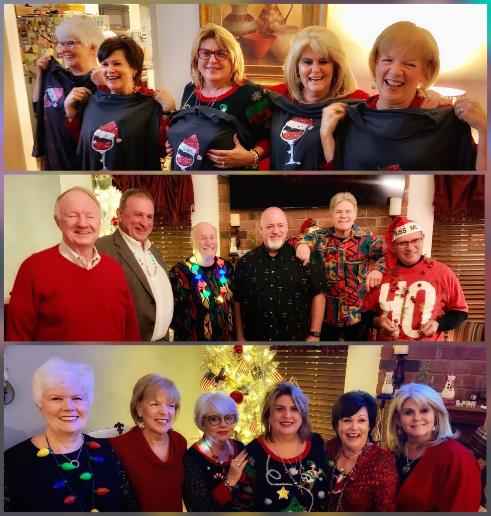 The annual Wonderful Winos Christmas party by louannwarren