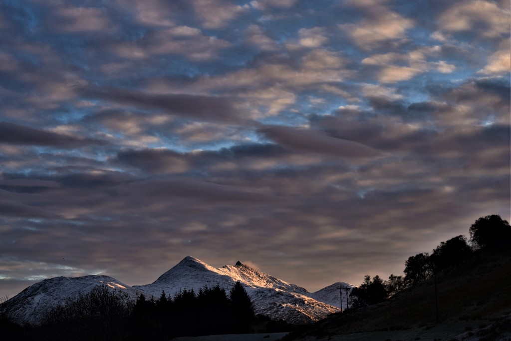 cold sky by christophercox