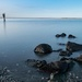 Dungeness Landing Co Park  Pilings, rocks, by theredcamera