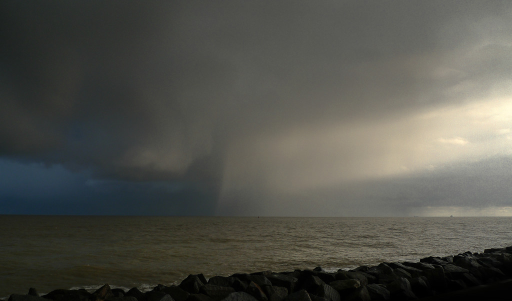 Just Before The Hail Storm by ilovelenses
