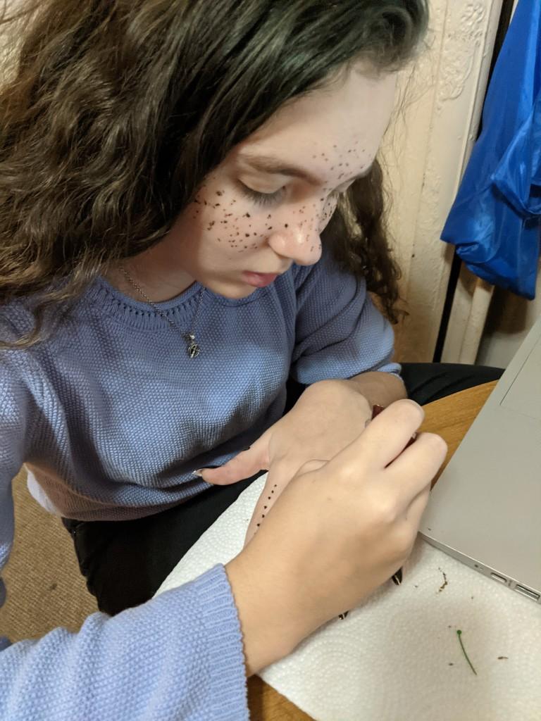 Henna Freckles by prairiesmoke