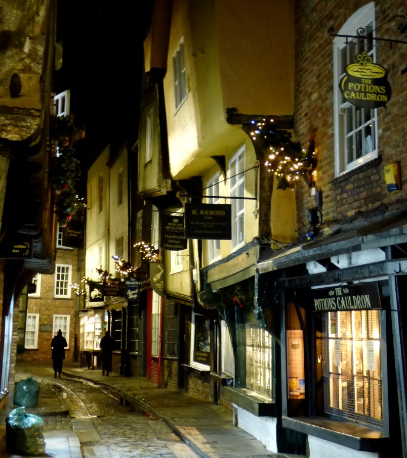 The Shambles at Night by fishers