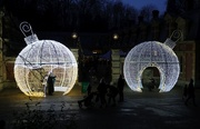5th Dec 2020 - Bauble Bubbles - Waddesdon Manor