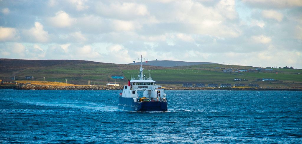 Bressay Ferry by lifeat60degrees