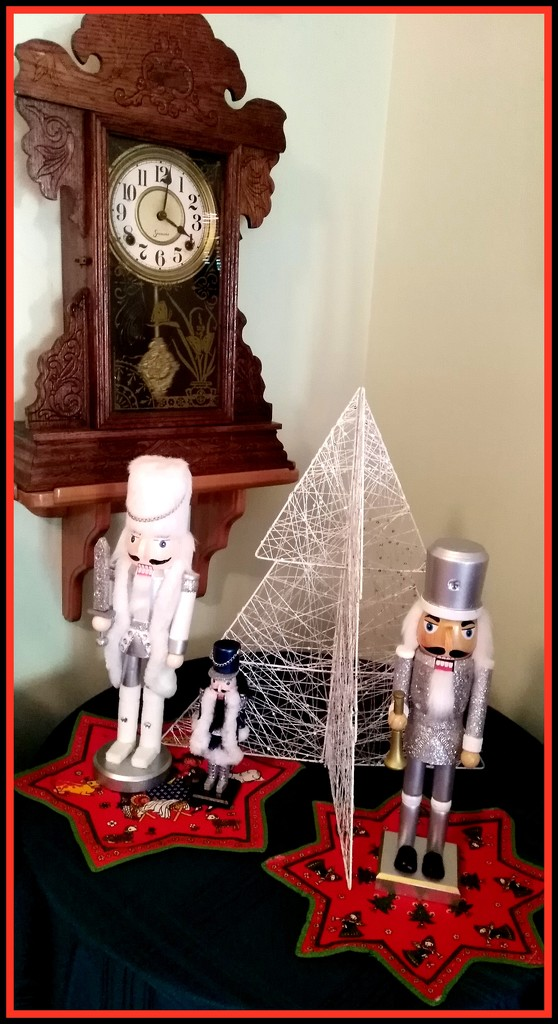 Nutcracker Corner in my lounge by 777margo