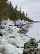 10th Dec 2020 - Ice covered shoreline