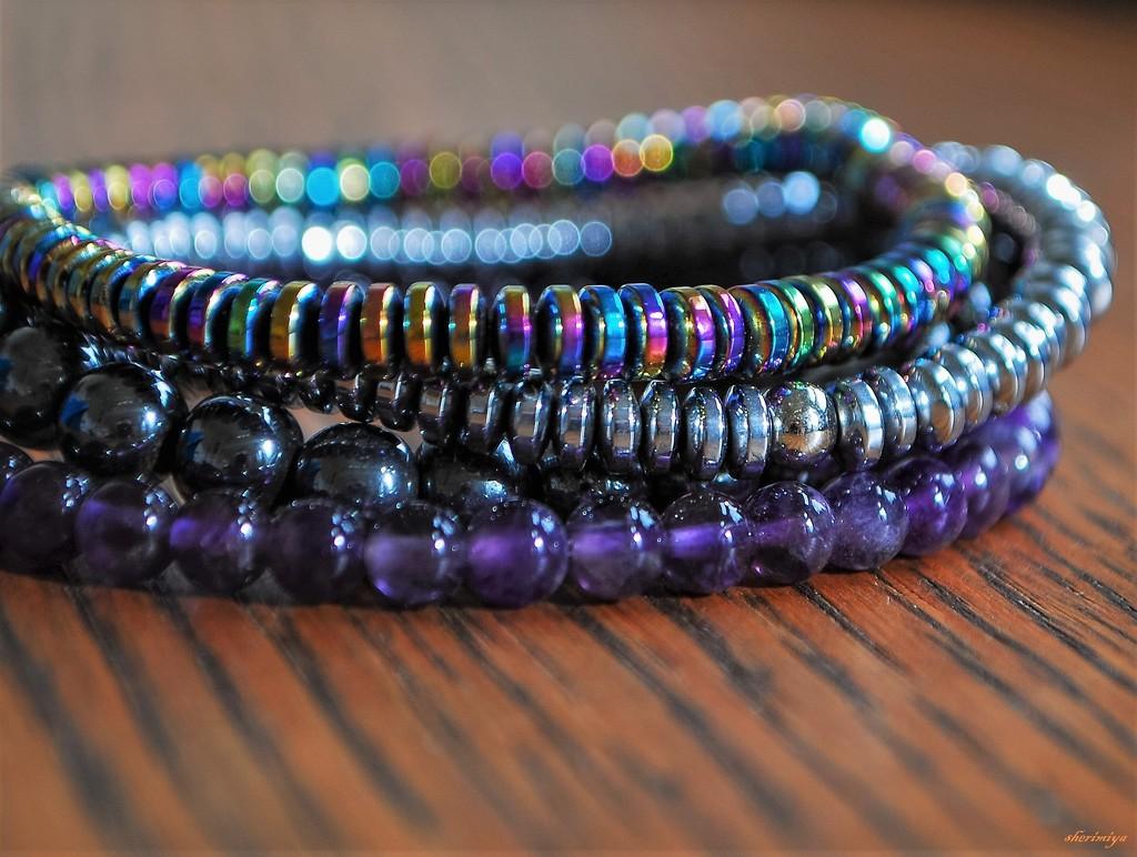 Bracelets by sherimiya