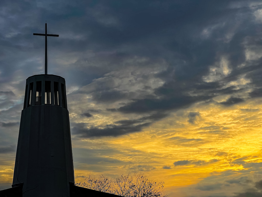 Sunrise Steeple by jbritt