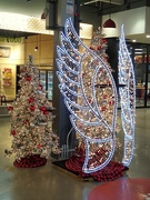 13th Dec 2020 - Christmas Tree and Angel Wings Display