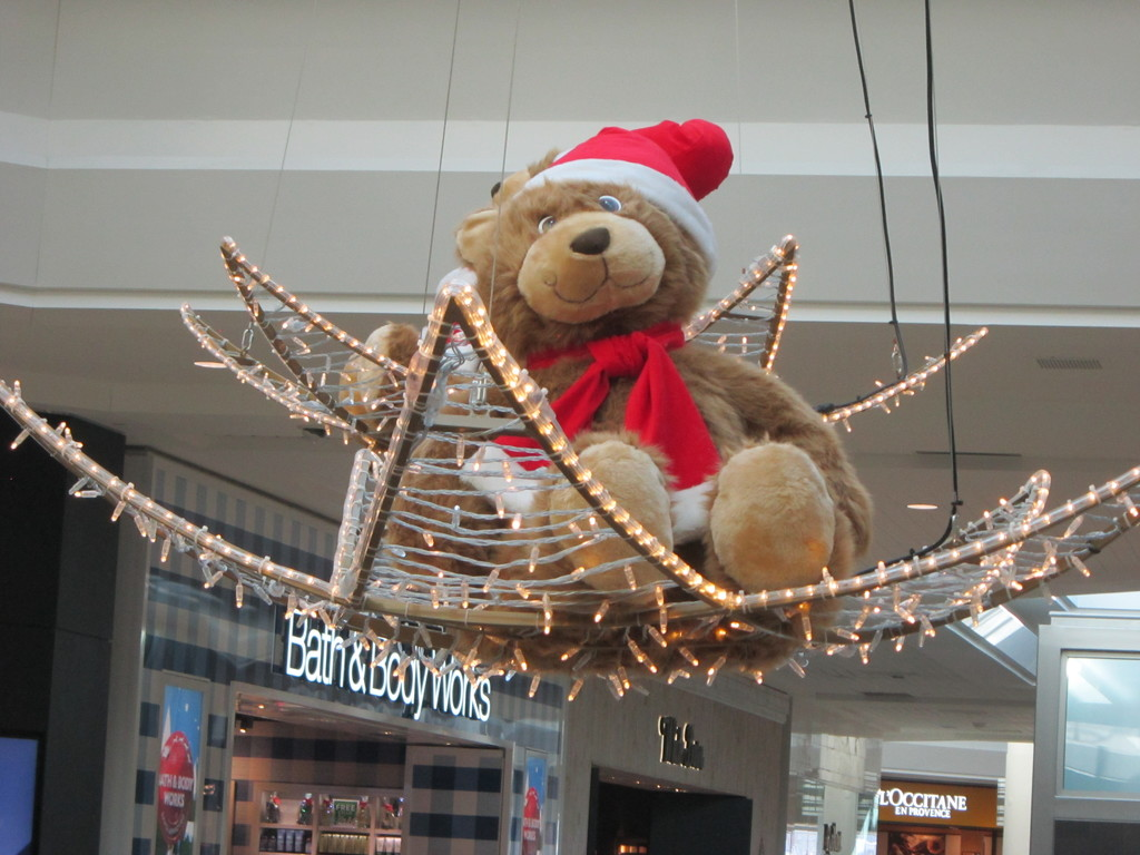 Christmas decoration - Swinging on a star by bruni