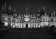 17th Dec 2020 - Waddesdon Manor - At Night (monotone version - edited)