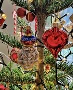 17th Dec 2020 - Santa Claus and a heart.