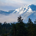 Olympic Mountains by theredcamera