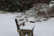 19th Dec 2020 - Snow covered bench