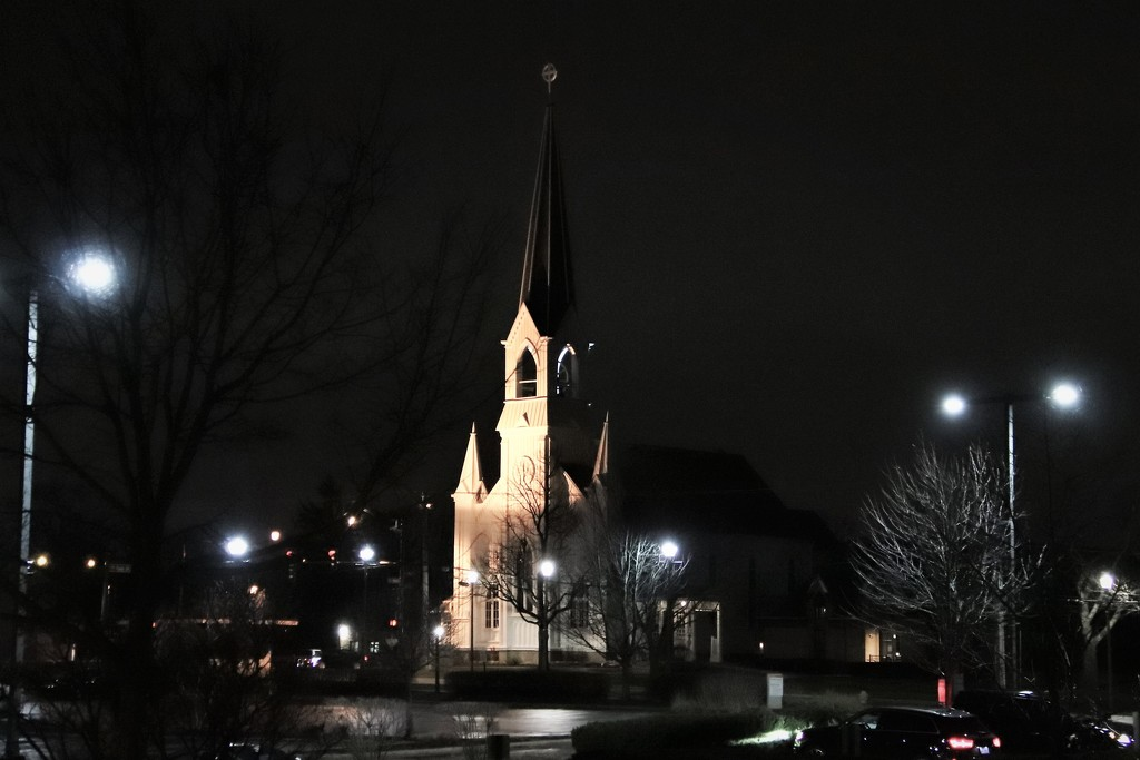 Church At Night by randy23
