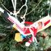 Hospital Xmas Tree decoration.This poor elf broke his leg by 777margo