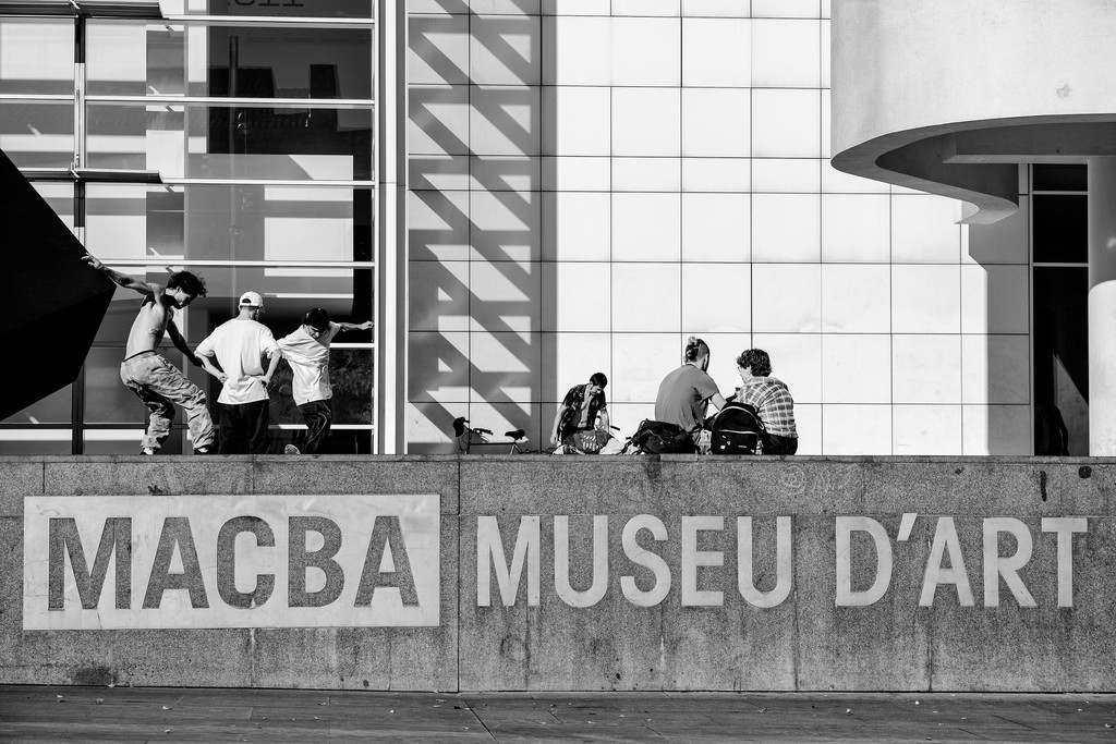 MACBA - Museum of Contemporary Art by jborrases